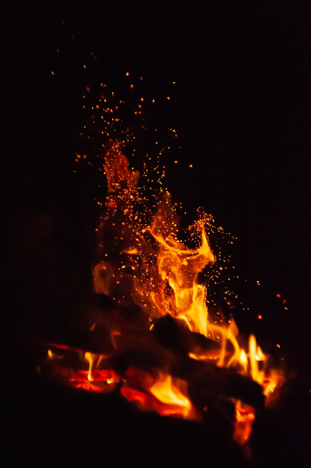 fire in the middle of the fire