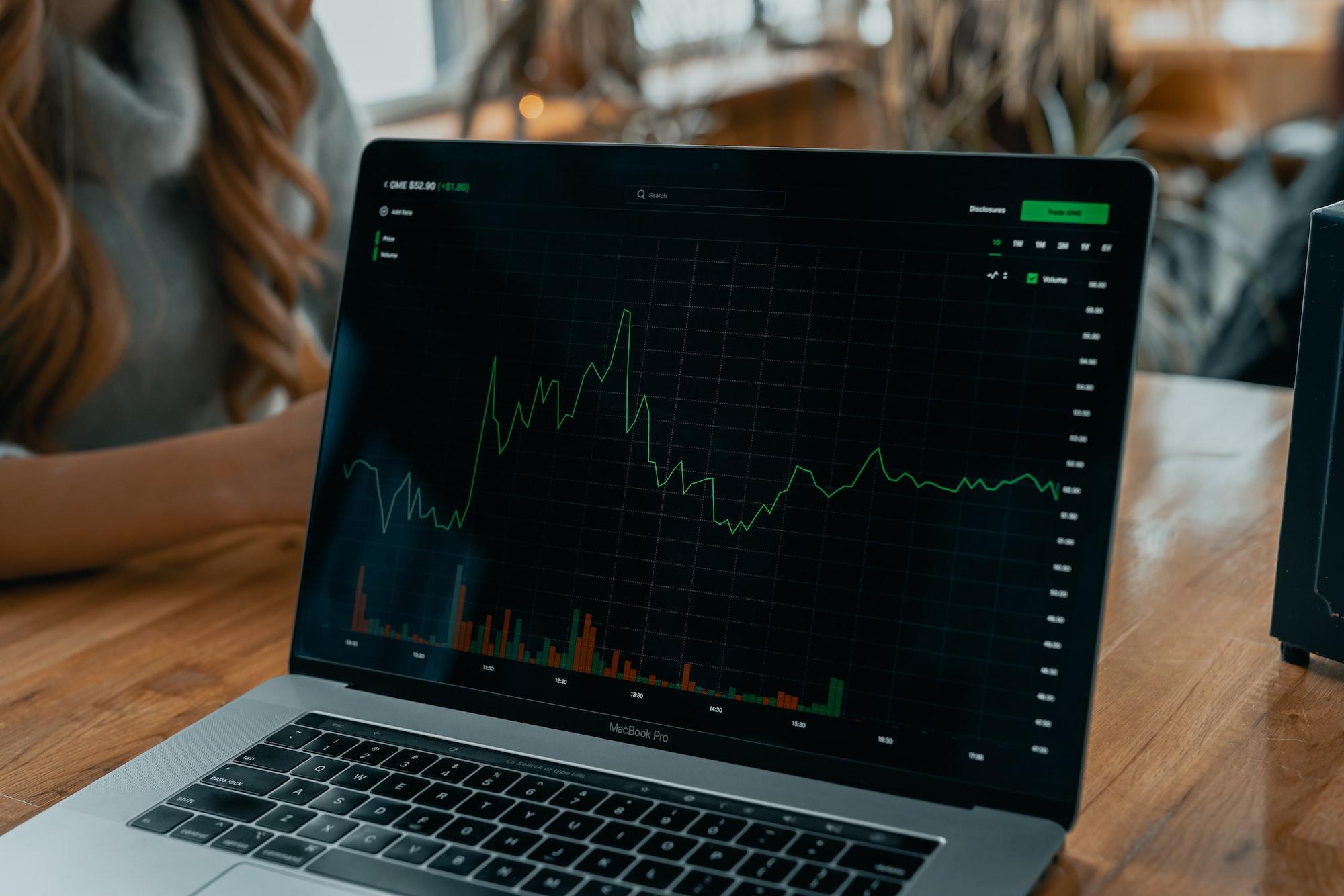 GME Stock Chart on Robinhood App! | Via techdaily.ca | #stocks #finance #investing #gme #stonks #citadel