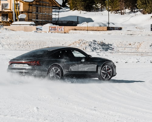 Jízda ve sněhu