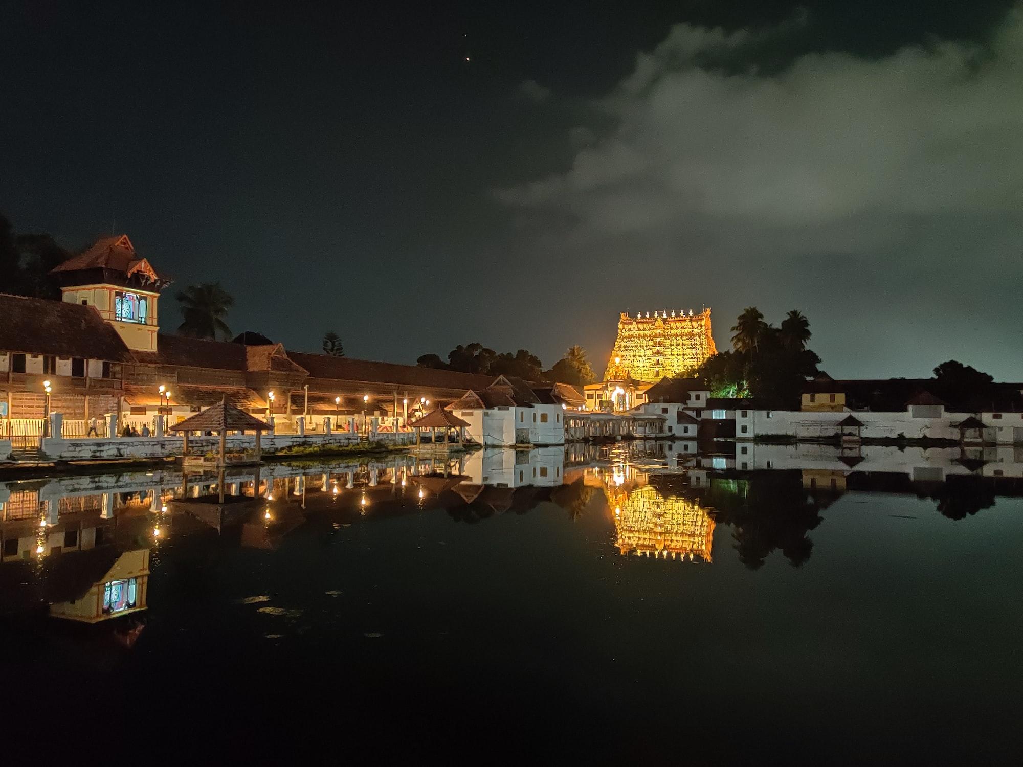 Sree Padmanabha Swamy Temple, Thiruvananthapuram, Kerala, India