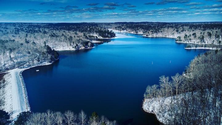 The Freezing of Walnut Pond