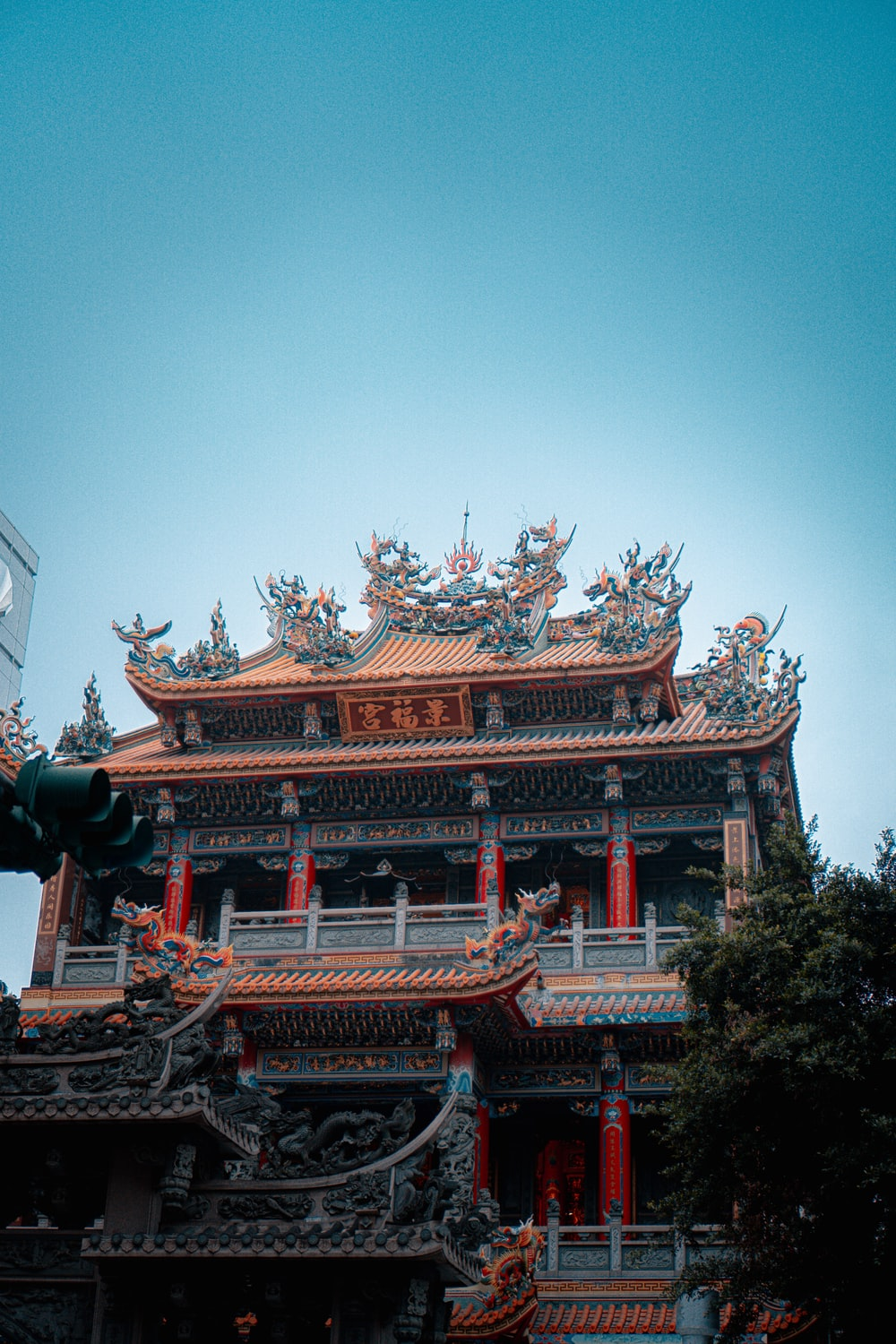 red and brown temple under blue sky during daytime