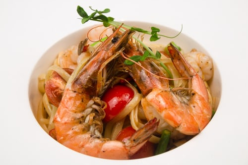 Rank 8 in Best Spinach Shrimp pasta recipes with calories and ingredients list