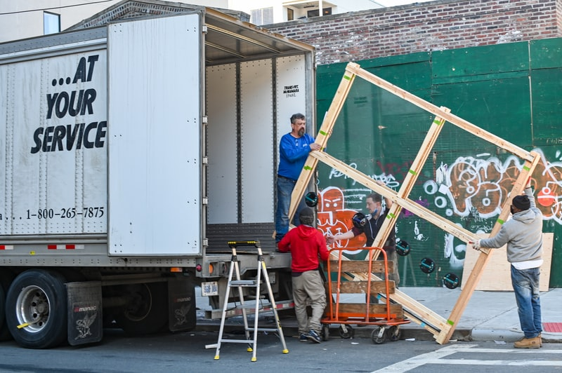 moving services and storage