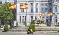 The Joke  The flags were all over the buildings in the capital like a jaundiced, rectangular ivy. The buildings of the city didn't used to be adorned this way, but separatists to the north had had their failed revolution and the promise it had offered ... spain stories