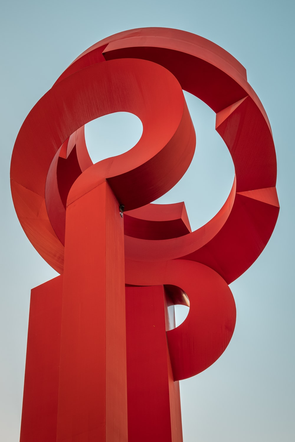 red and white spiral illustration