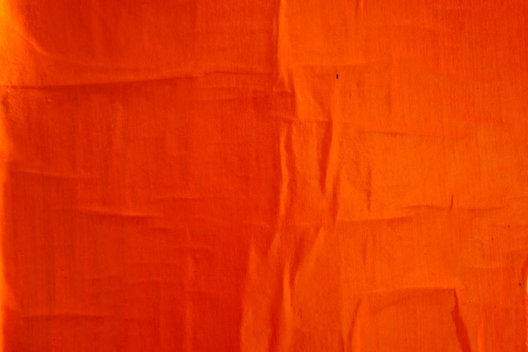 Orange Textile On White Textile - unsplash