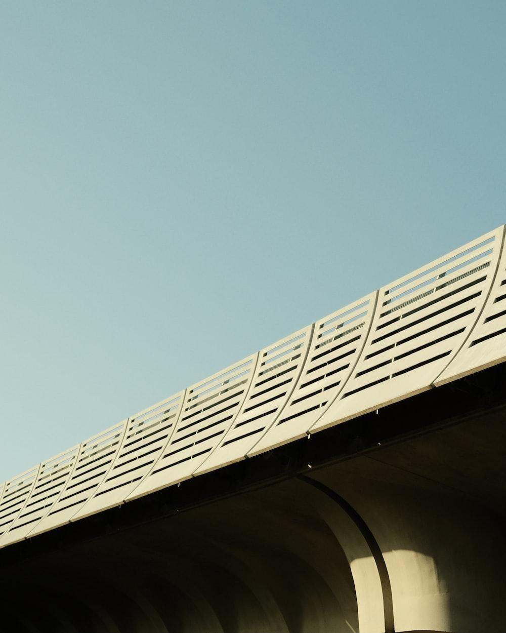 white metal frame under blue sky during daytime