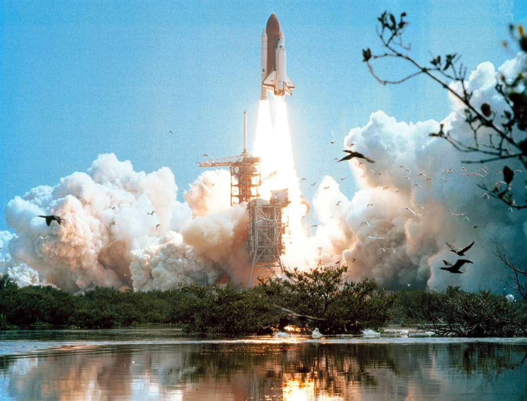 Space Shuttle Columbia's STS-4 mission launched from Kennedy Space Center on June 27, 1982