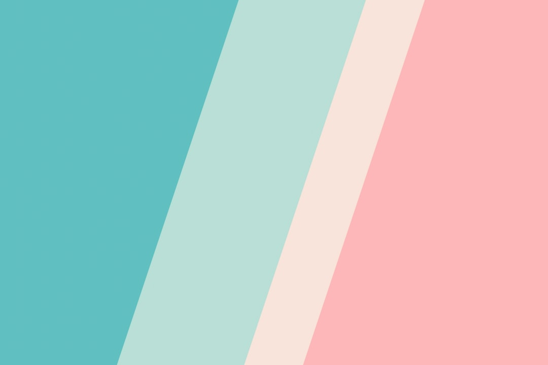 Pink and Blue Striped Textile - unsplash