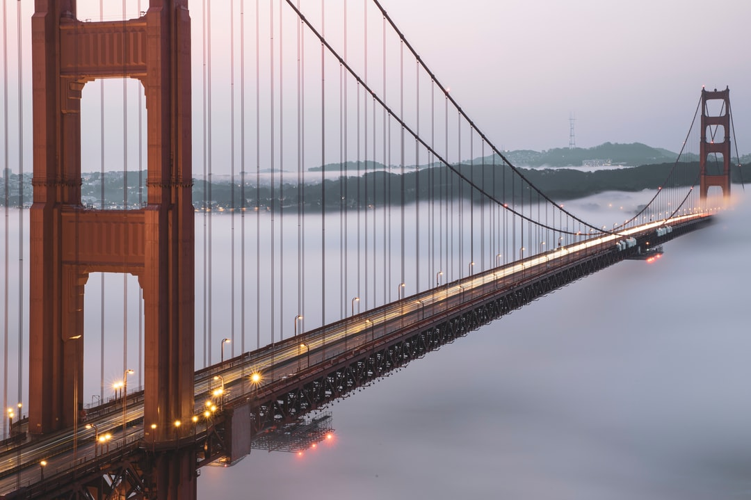 Golden Gate Bridge San Francisco - unsplash