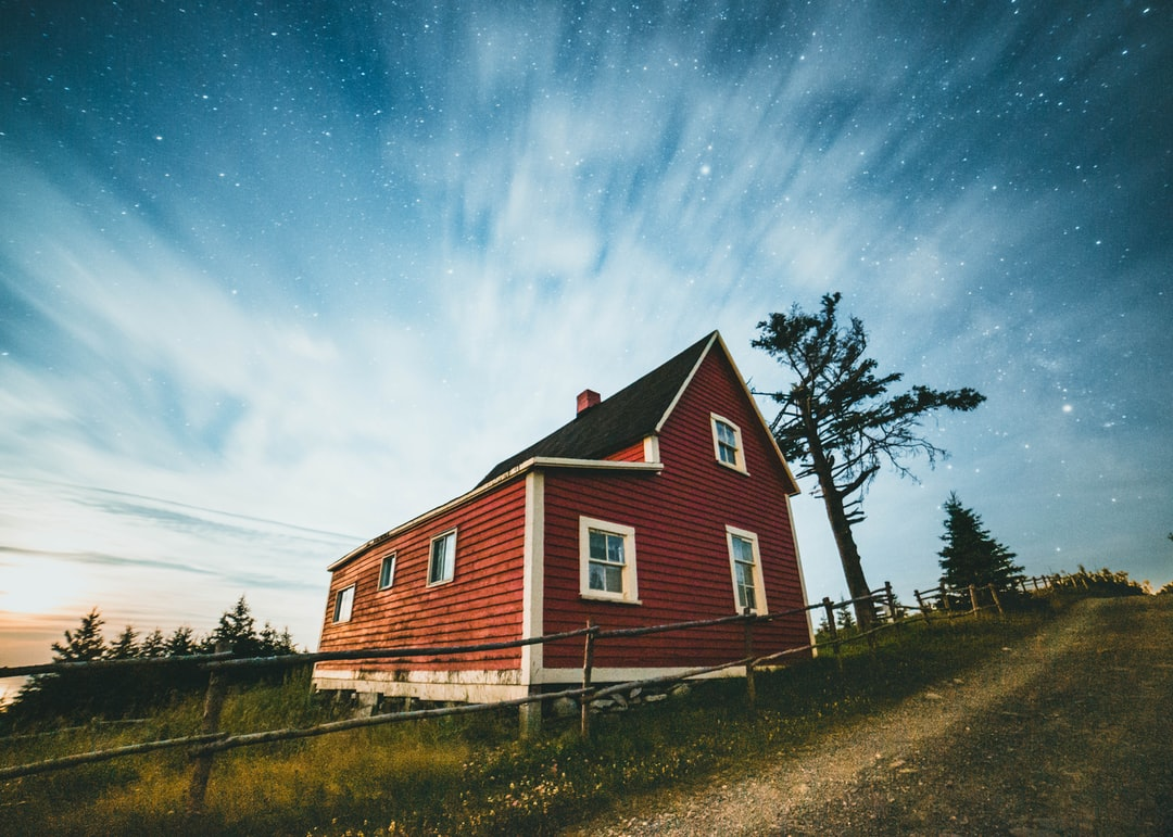 Brown and White Wooden House Near Green Trees Under Blue Sky During Daytime - unsplash