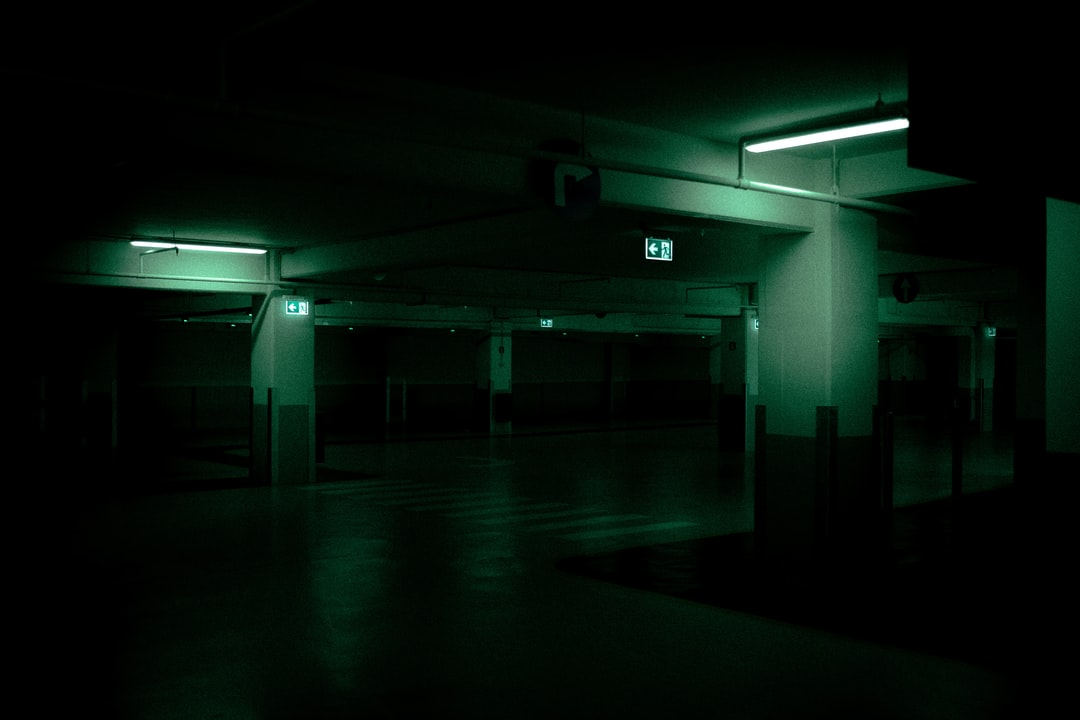Cinematic Parking  - unsplash