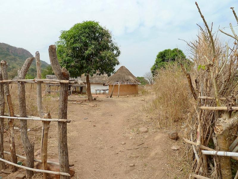 Coldest places in Senegal by minimum mean temperature