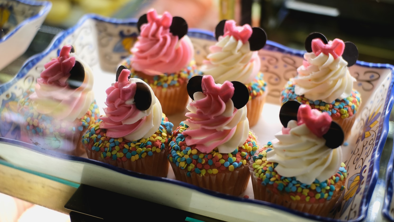 Mickey Mouse cupcakes at Everything POP