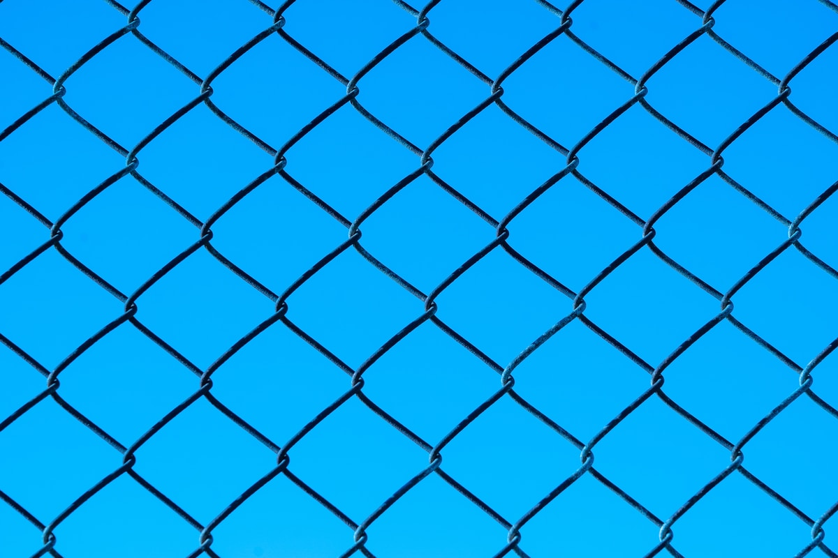 chain link fence in Permian Basin