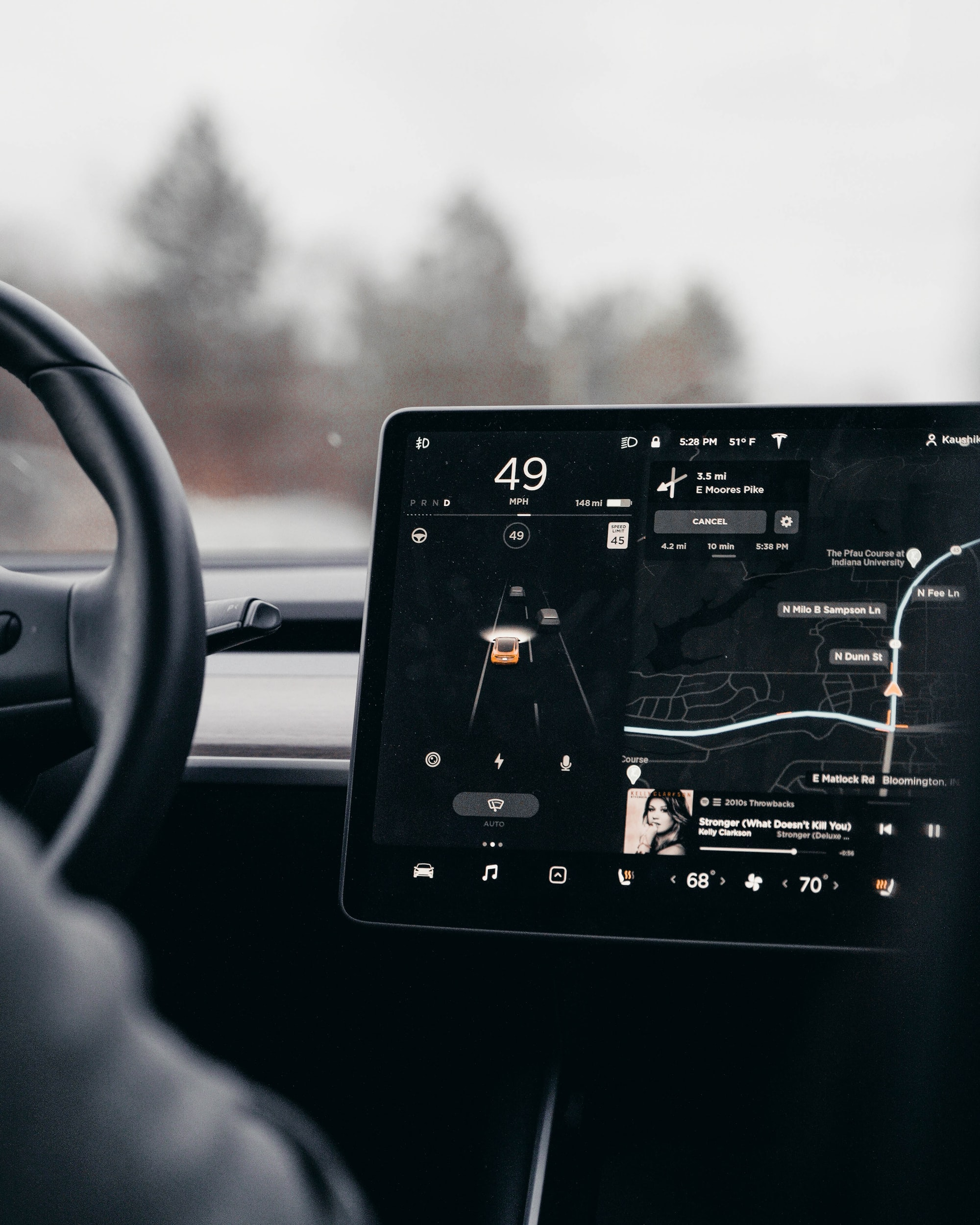 Vision as a Service provided by Tesla