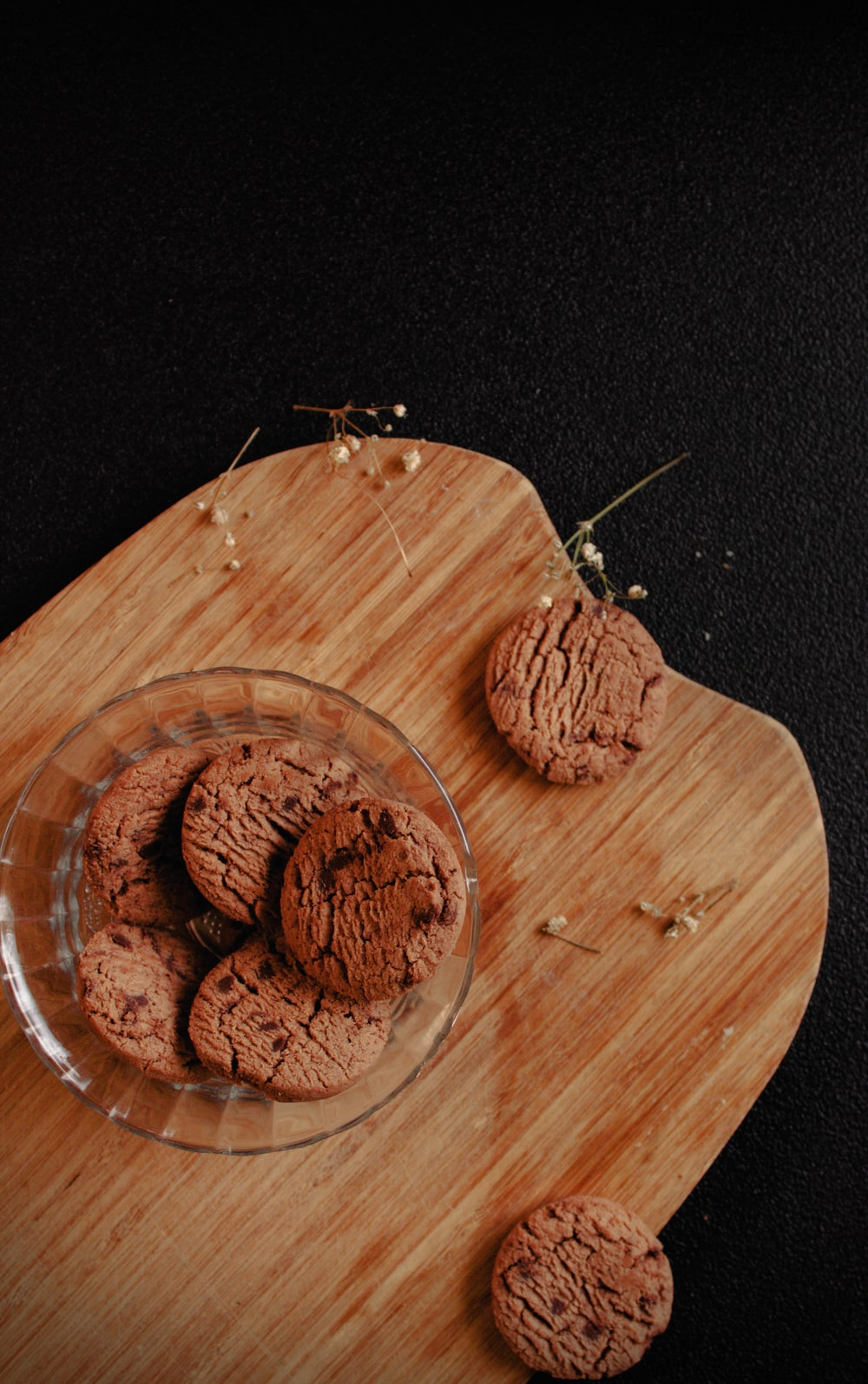 brown nut on brown wooden chopping board