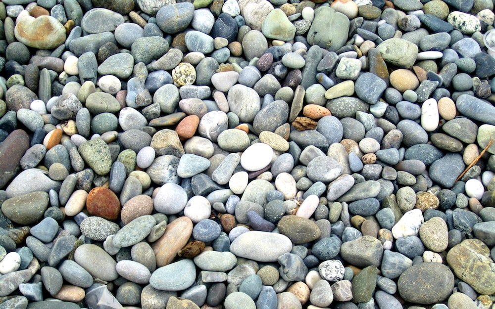 gray and brown stones on the ground