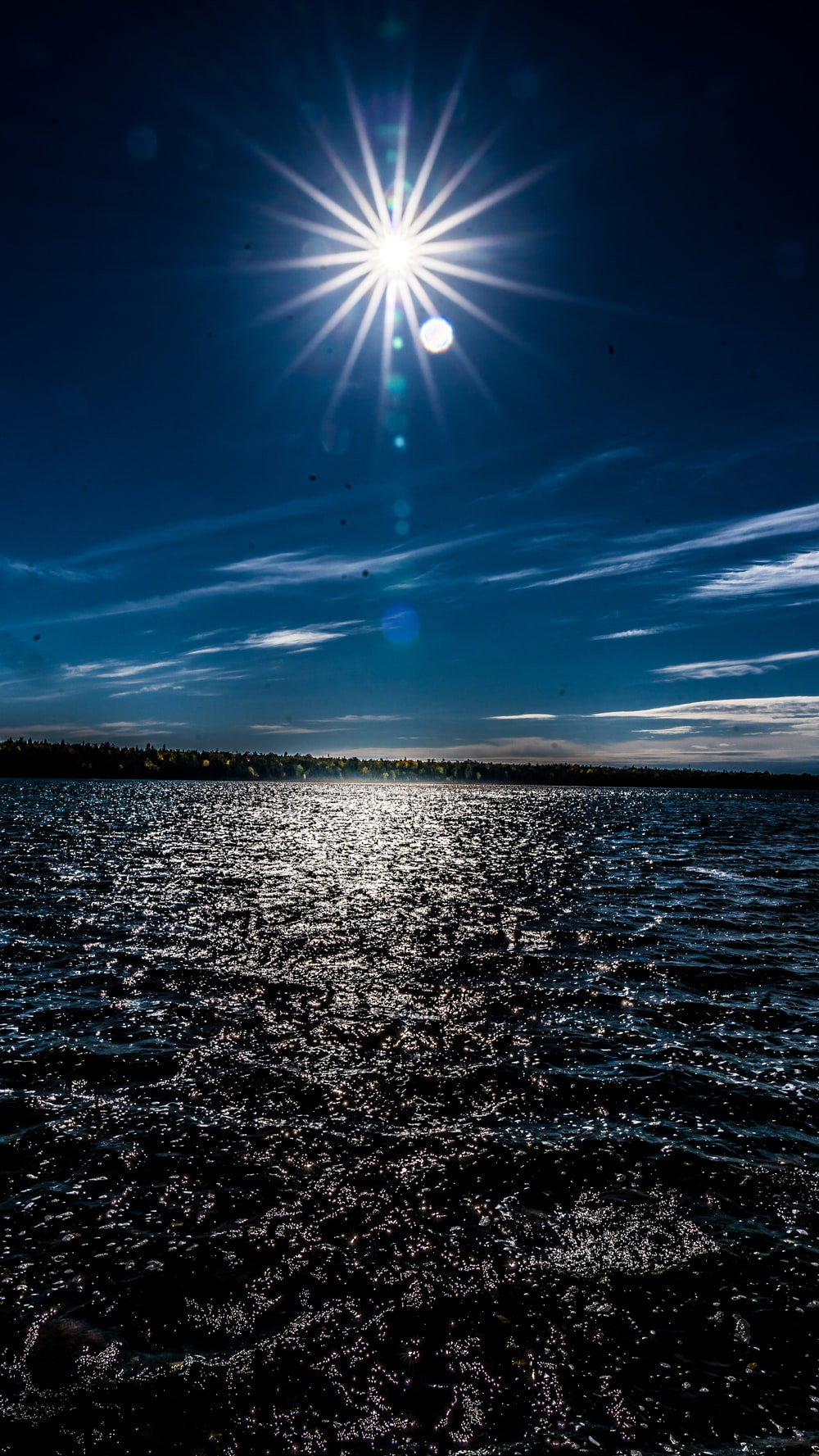 body of water under blue sky during daytime