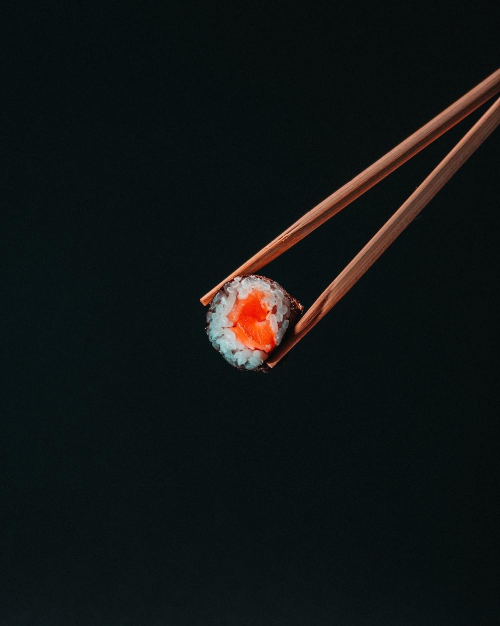 orange and white light bulb