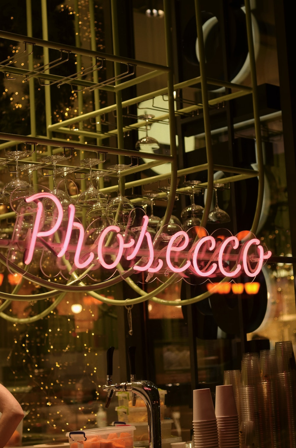 pink and white love you led light signage