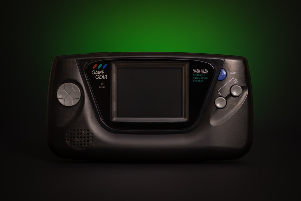 black digital device turned off