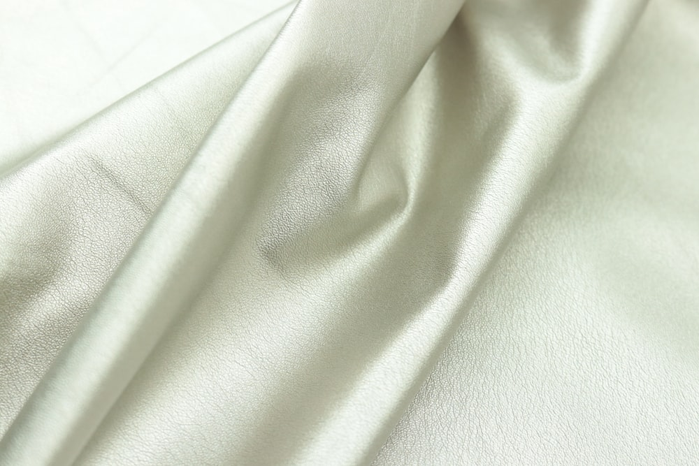 white textile in close up image
