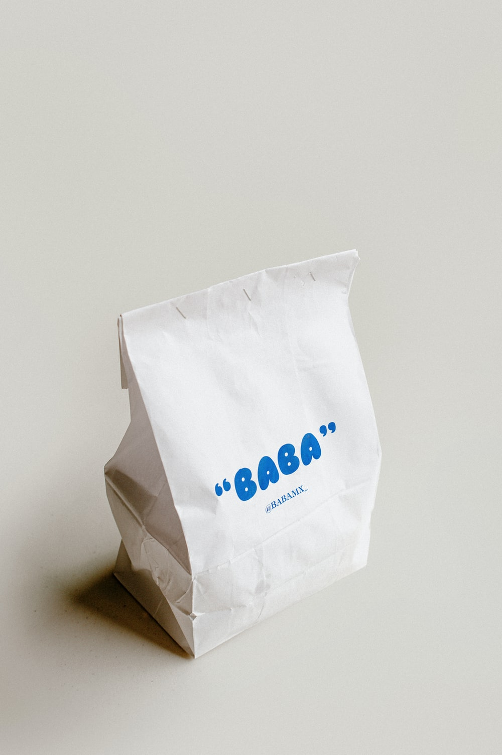 white and blue plastic pack