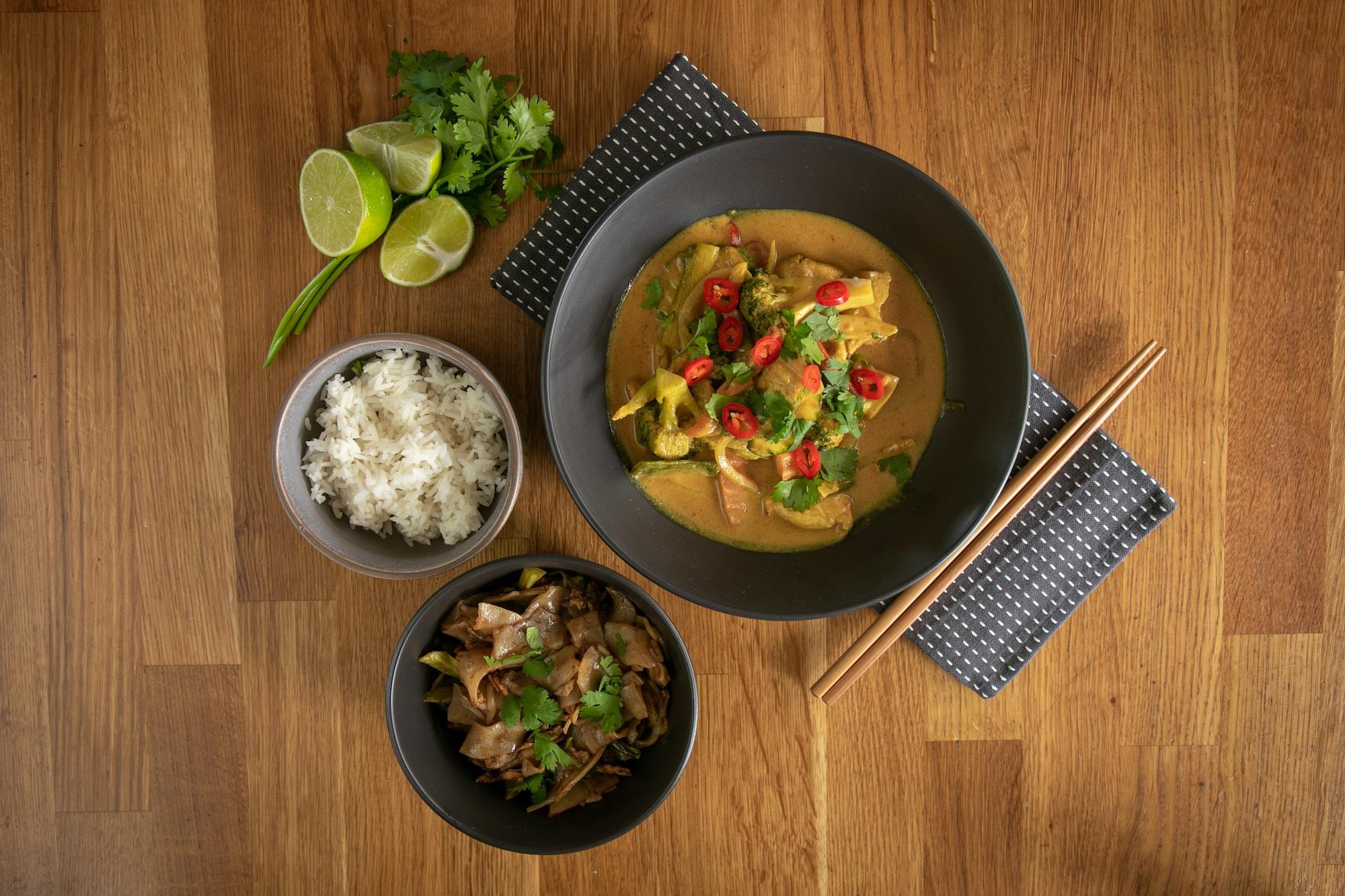 Thai food (hero shot).