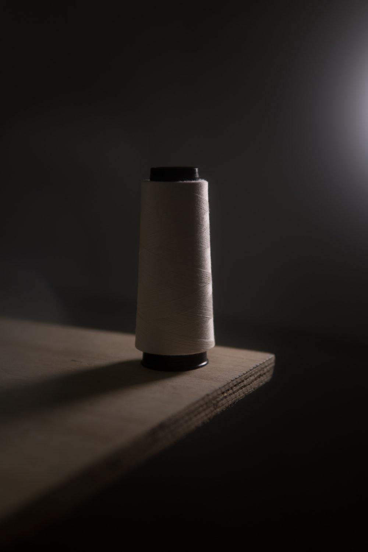 white tissue roll on white table
