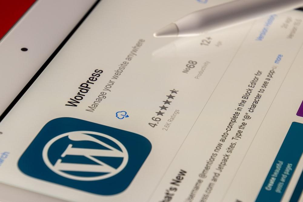 white and blue printer paper
