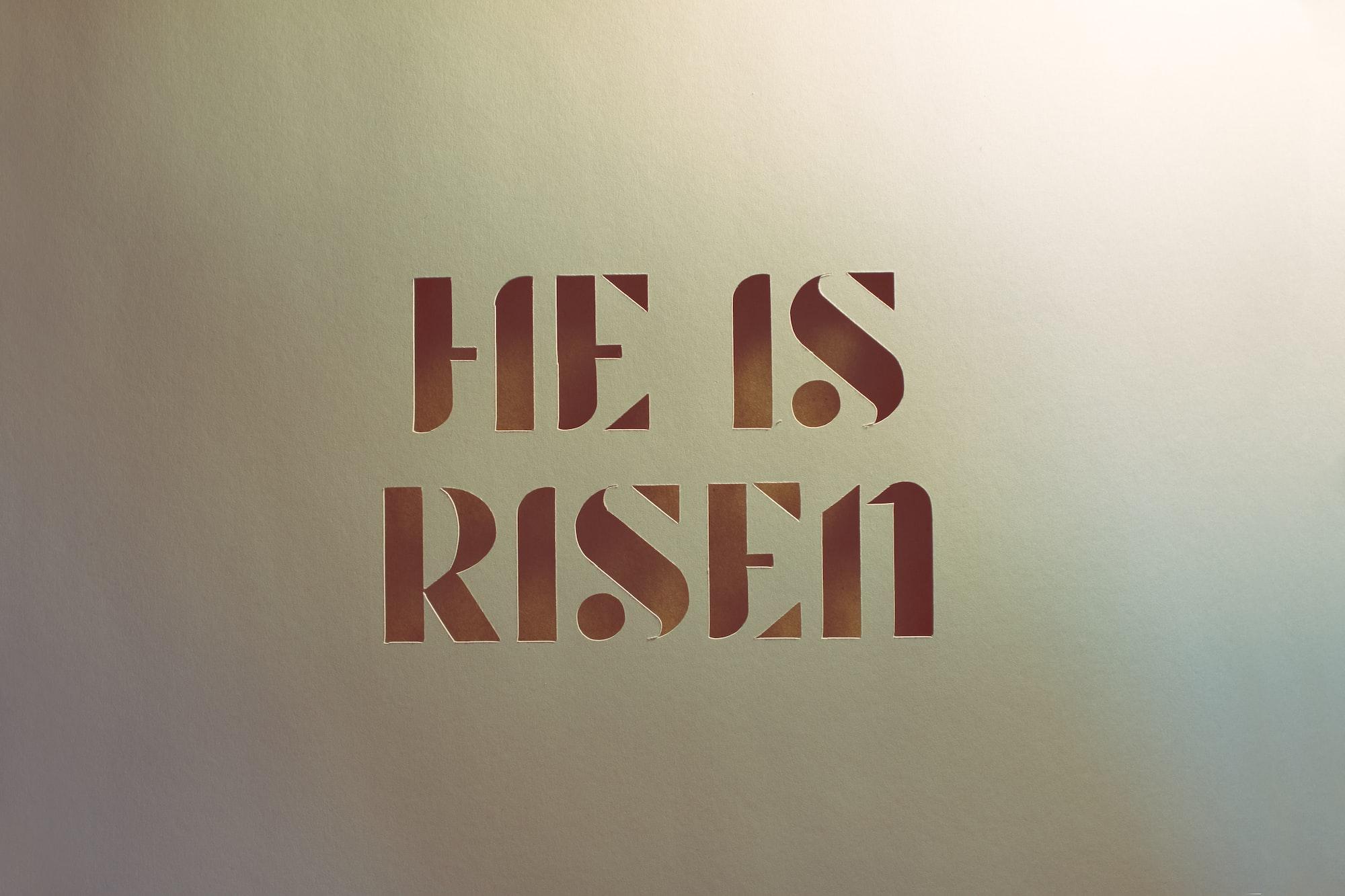 Apprehending The Resurrection