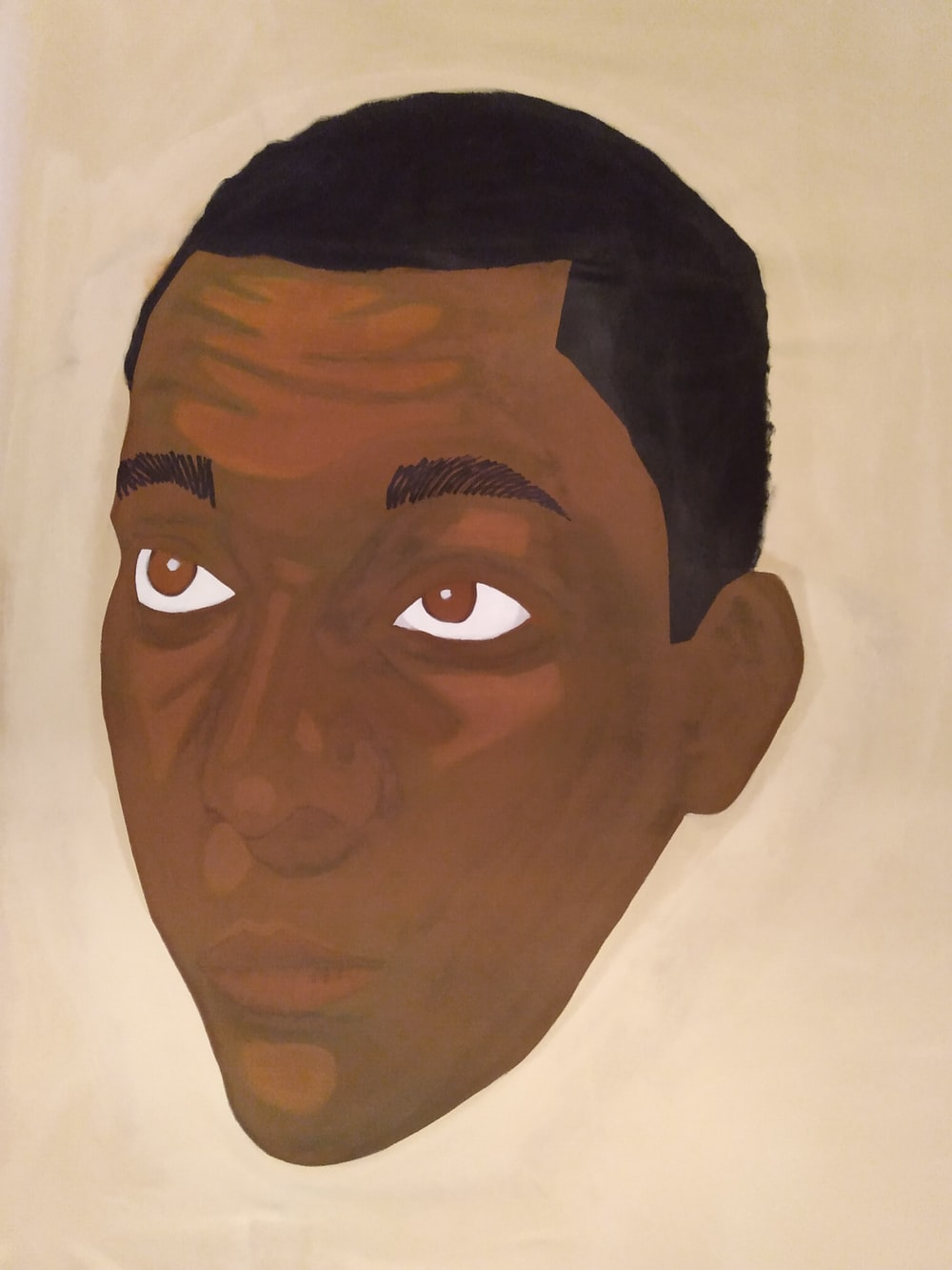 man in white collared shirt