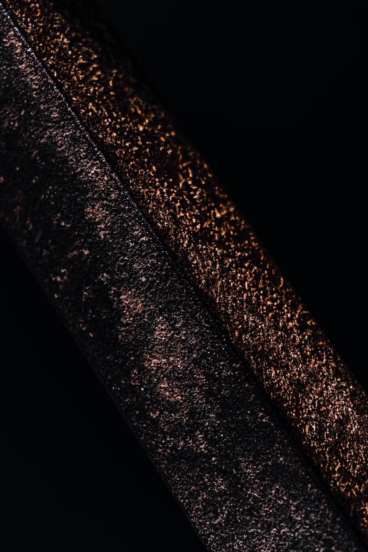 black and white fur textile