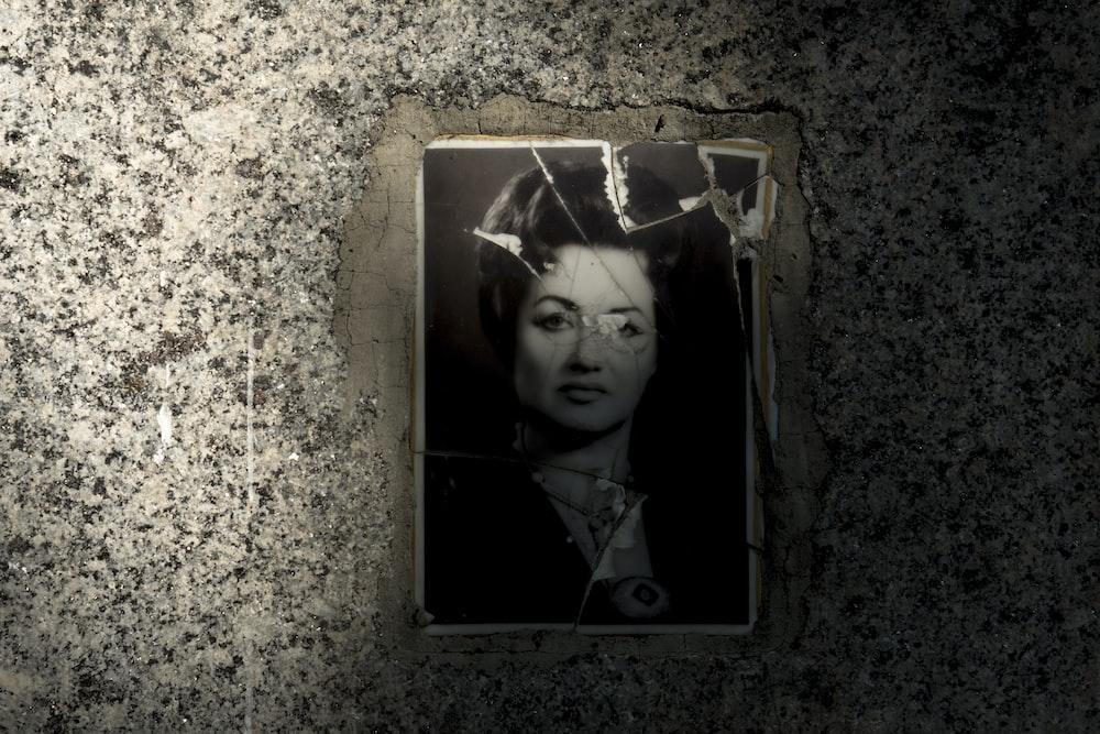 woman in black shirt portrait