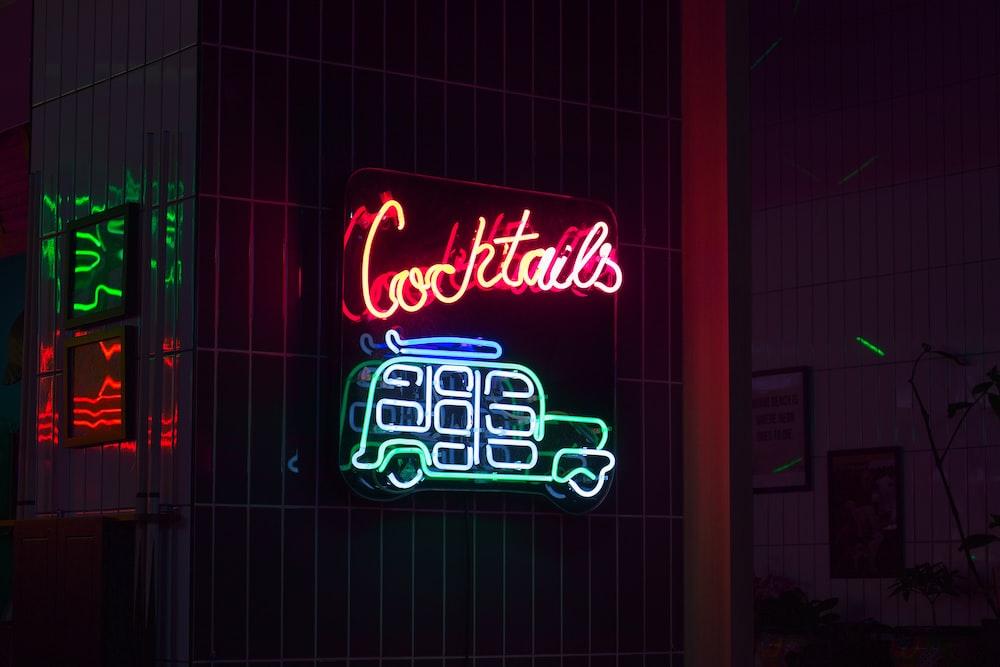 UNKs coffee shop signage