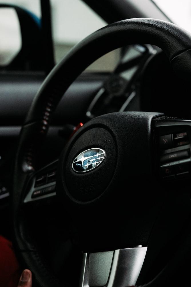 Subaru steering wheel