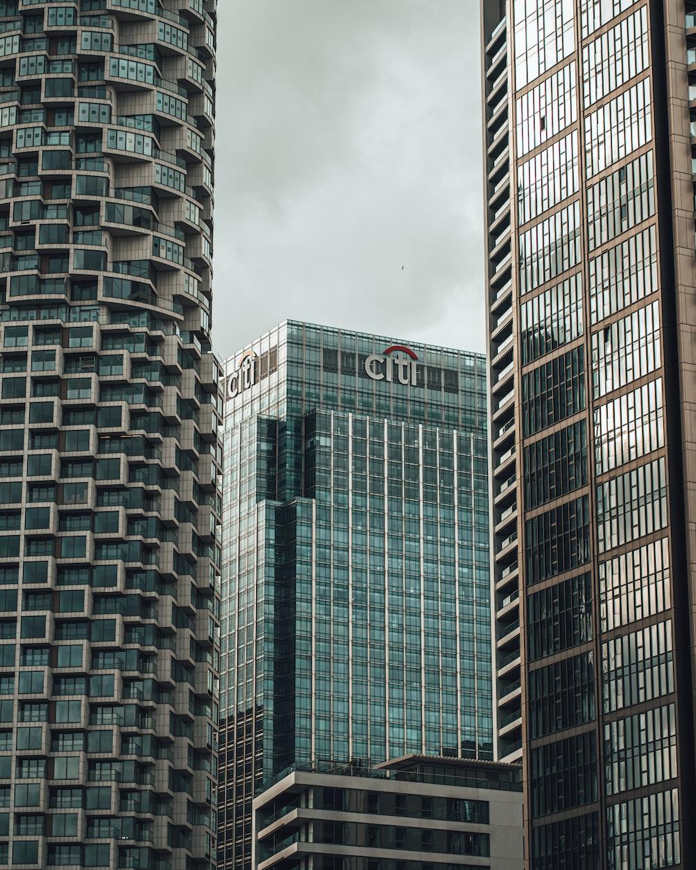 gray concrete building under gray sky