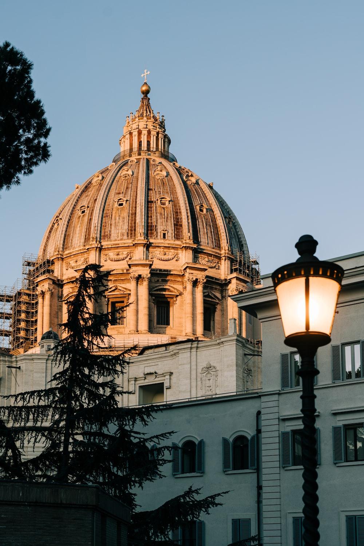 beige dome building under blue sky during daytime