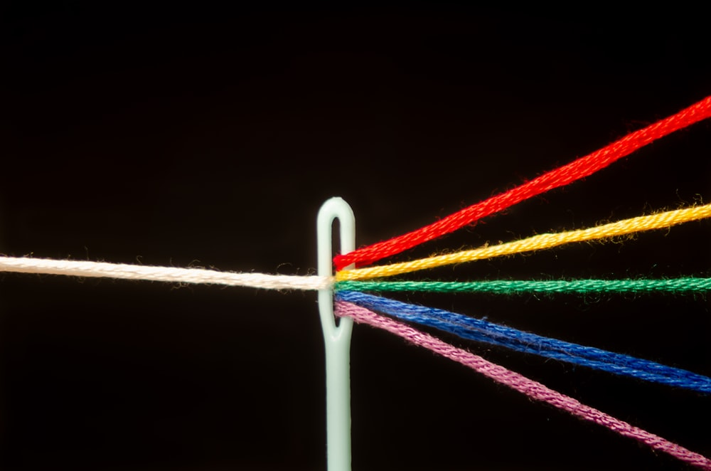 white red blue and green candy cane