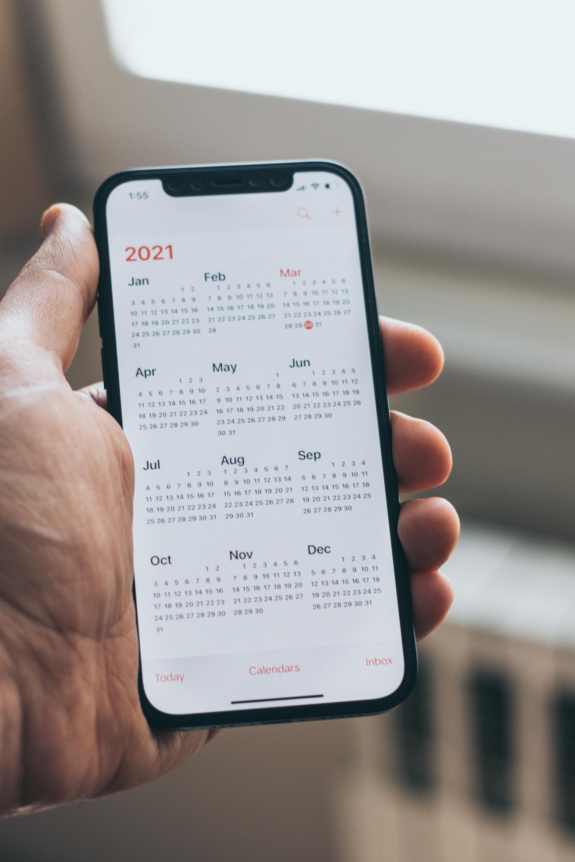 iPhone 12 Calendar Part 5.