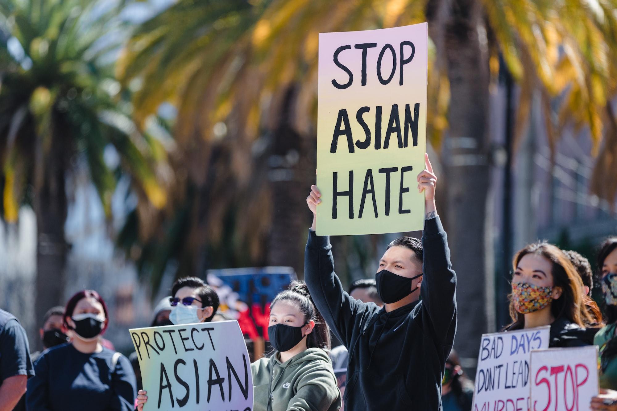 美掀亞裔仇恨犯罪風潮 「比病毒可怕的是仇恨」