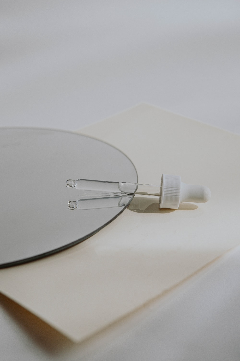 white usb cable on white table