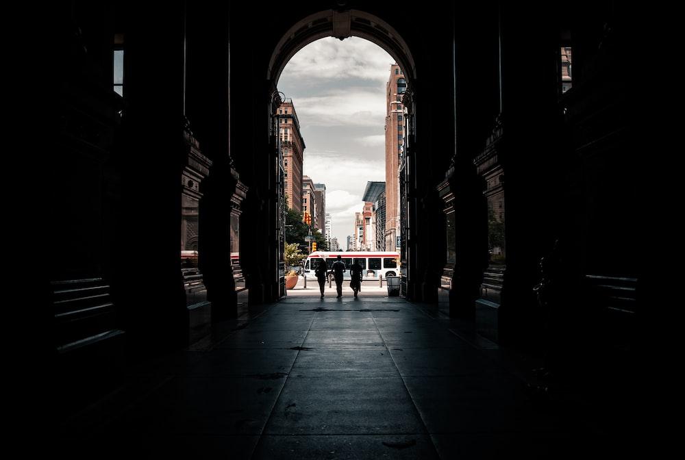 people walking on pathway during daytime