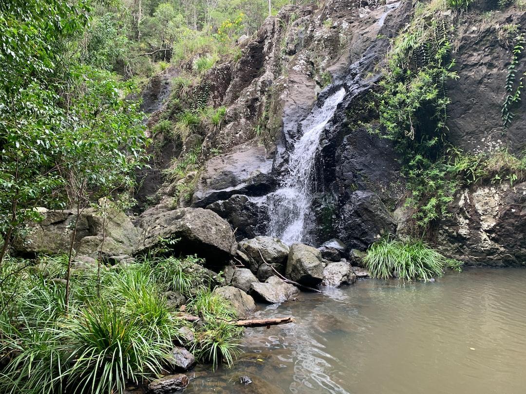 waterfall-rainforest ... photo
