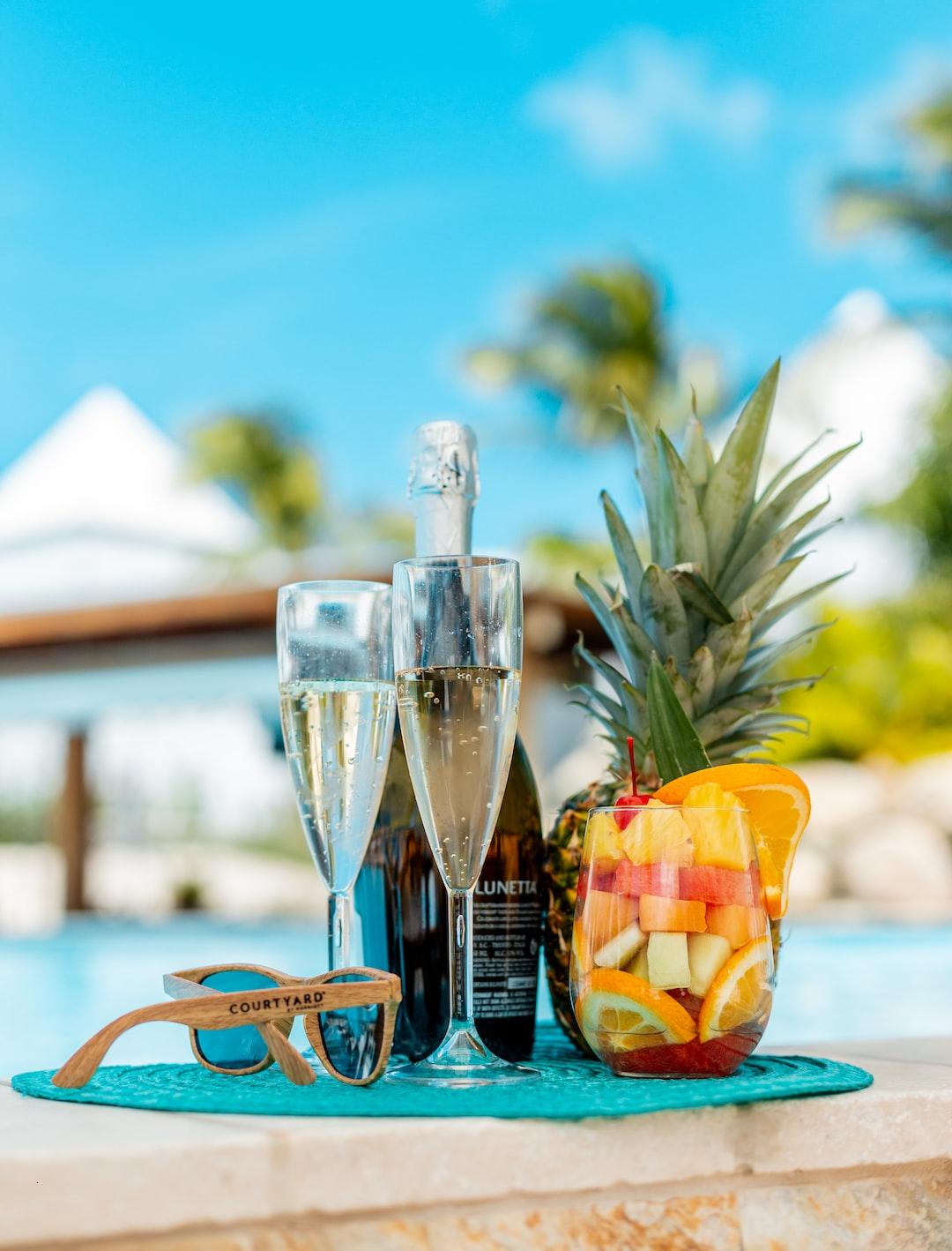 Drinks in Aruba