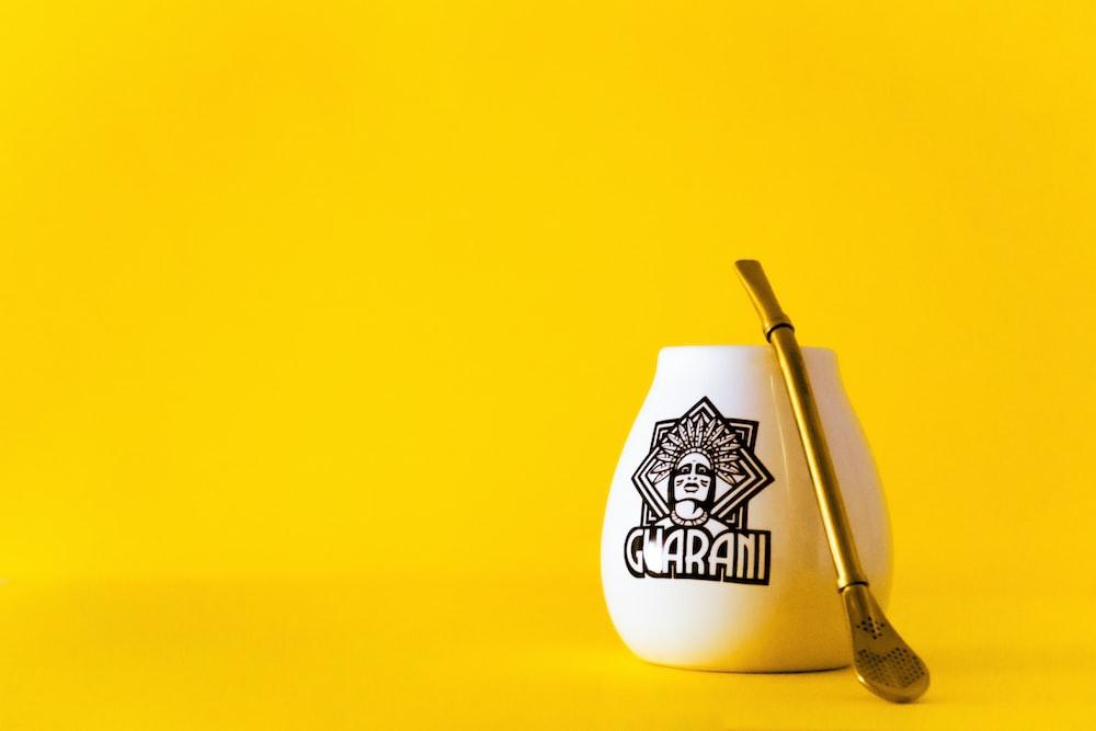white and black jack daniels ceramic mug