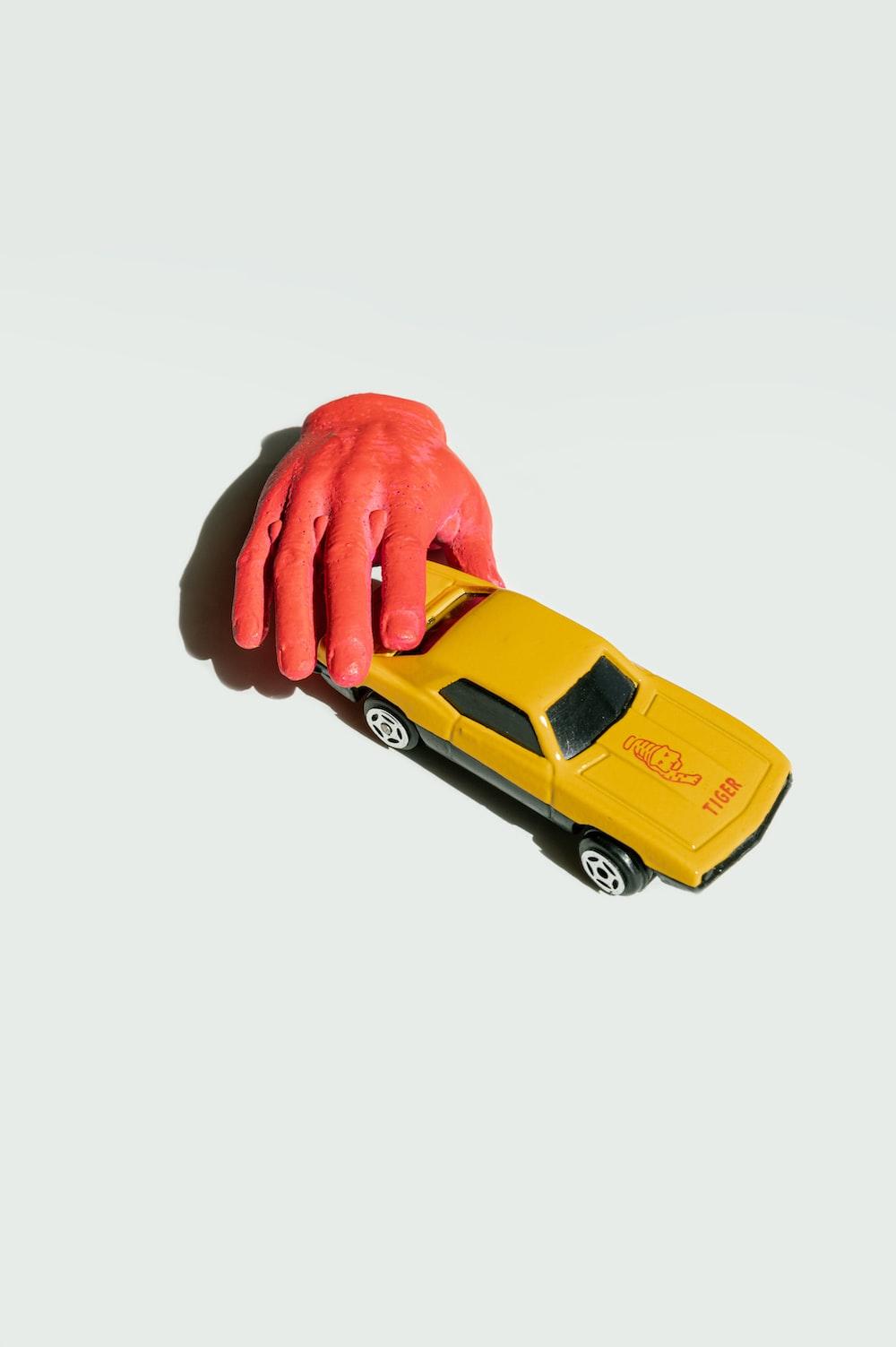 yellow chevrolet camaro scale model