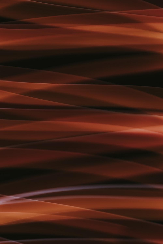 orange and white light digital wallpaper